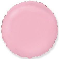Шар (18''/46 см) Круг, Розовый, 5 шт., арт. 401500RS