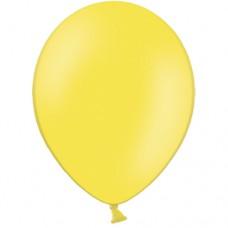 Шар (12''/30 см) Желтый, пастель, 100 шт.(612106)