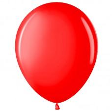 Шар (12''/30 см) Красный (230), пастель, 100 шт (711001)
