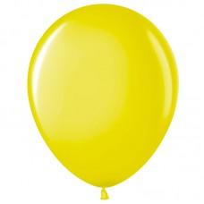 Шар (12''/30 см) Желтый (210), пастель, 100 шт. (711006)