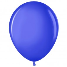Шар (12''/30 см) Синий (250), пастель, 100 шт.(711013)