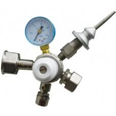 Редуктор гелиевый БКО-50 Мини с клапаном плавного нажатия
