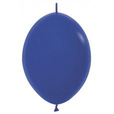 """Шар S Линколун Пастель 9"""" (23см), цвет Синий \ Royal Blue (509041)"""