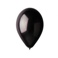 """Шар И 5""""/14 черный, Пастель Black (1102-0427)"""
