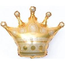 "Шар фигура Корона, золото (28""/71 см) 15251"