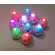 Подсветка в шар Разноцветная (мигающая), Круглая, 10 шт. DB15A