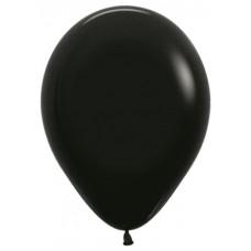 Шар Шар (12''/30 см) Черный (080), пастель 100 шт. 231771