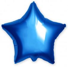 Шар Звезда синий (21''/53 см) 751398