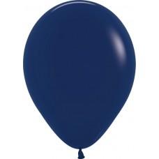 Шар Темно-синий (044) пастель (И 12''/30 см) 100 шт. 139012