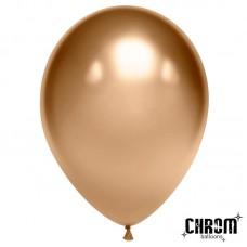 Шар Золотой хром 50 шт. 611102