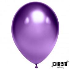Шар Фиолетовый хром 50 шт. 611104