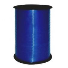 Лента для завязывания шаров металлизированная, на бобине. Синяя. 5ммХ230м (1302-0091)