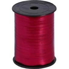 Лента для завязывания шаров металлизированная, на бобине. Малиновая. 5ммХ230м (1302-0111)