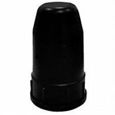 Колпак защитный,  универсальный, черный (металл)