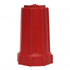 Колпак защитный,  универсальный, красный (пластик)