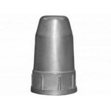 Колпак защитный,  универсальный, серый (металл)
